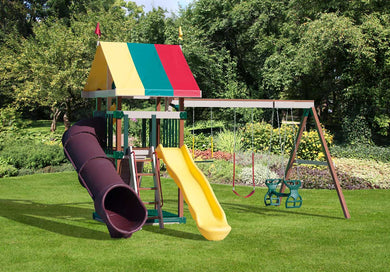 Poly Royal Fort Swing Set