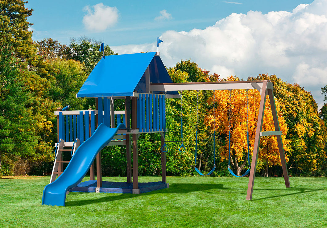 Poly Merry Haven Swing Set
