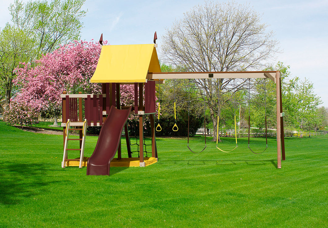 Poly Outdoor Delight Swing Set