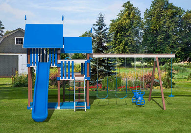 Poly Backyard Supreme Swing Set
