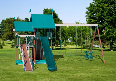 Poly Deluxe Dandy Swing Set