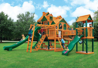 Gorilla Playsets Empire Extreme Swing Set