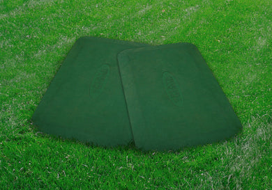 Protective Rubber Mats (pair)- green