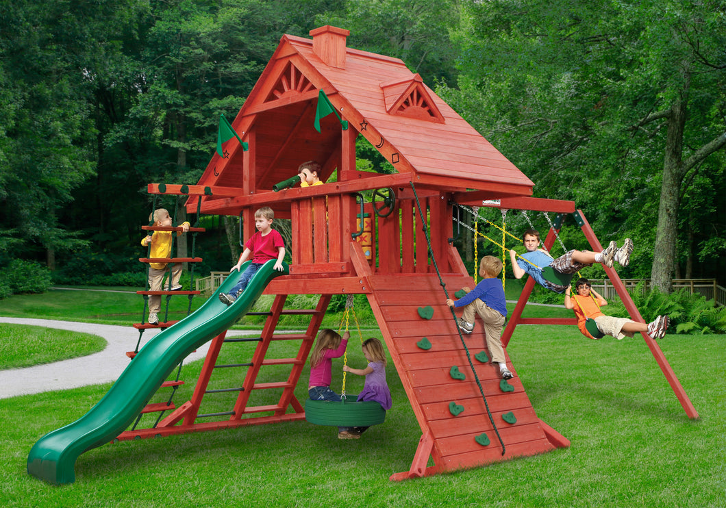 Gorilla Playsets Sun Palace 1 Swing Set