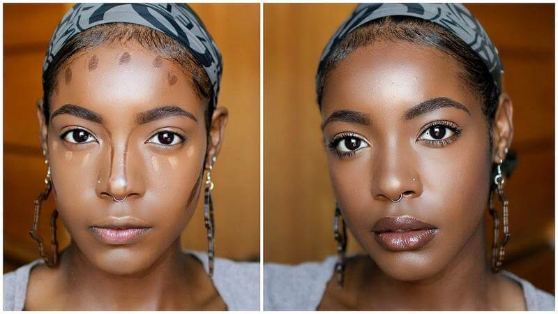 EASY HIGHLIGHT AND CONTOUR FOR ROUND/OVAL FACES