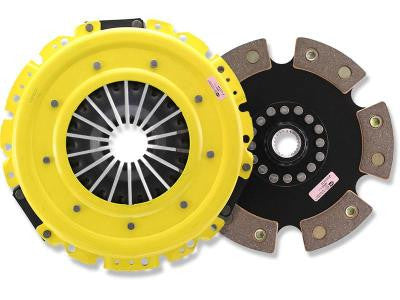 ACT Heavy Duty Race Solid Unsprung 6-Puck Clutch Kit NX8-HDR6 (90-96 NISSAN 300ZX TT)
