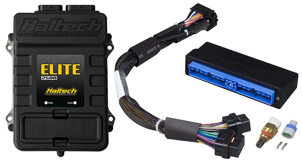 HALTECH ELITE 2500 PLUG AND PLAY ECU W/ADAPTER HARNESS HT-151359 (90-96 NISSAN 300ZX)