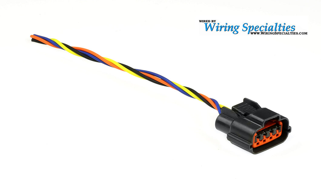 WIRING SPECIALTIES VG30 Cam Position Sensor Connector (New Style) VGDE-CAM-CON