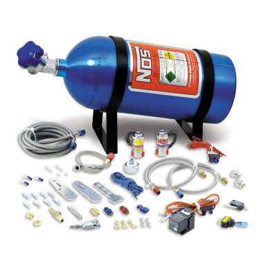 NOS Nitrous System Universal For 4 & 6 Cylinder Multi-Point EFI Engines w/10 lb Bottle 05130NOS