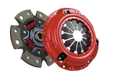 McLeod Racing Stage 2 Supremacy Street Power 6-Puck Carbotic Clutch Kit NON-TURBO 761751 (90-96 NISSAN 300ZX)