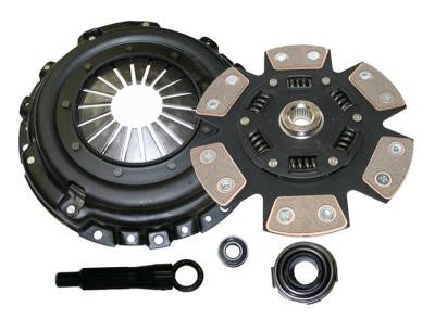 COMP CLUTCH STAGE 4 6 PUCK SPRUNG CERAMIC CLUTCH 6045-1620 (90-96 NISSAN 300ZX NON TURBO)