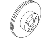 NISSAN OEM REAR DISC BRAKE 43206-20U00 (90-96 NISSAN 300ZX)
