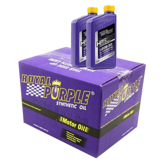 ROYAL PURPLE HPS SYNTHETIC OIL 6 QT CASE