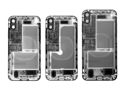 X-ray of new iPhones