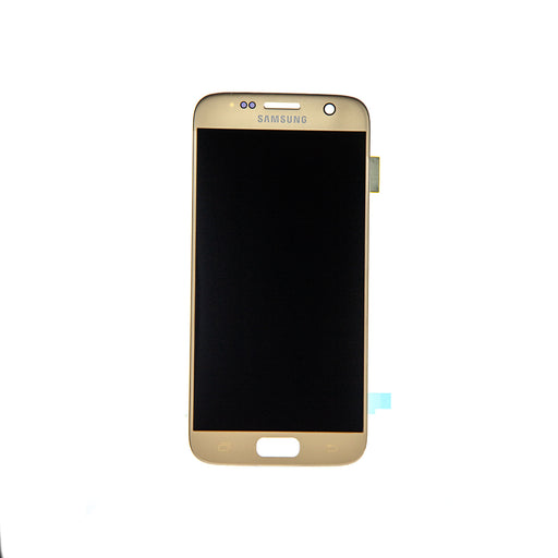 Samsung Galaxy S7 Display Assembly - Gold Platinum