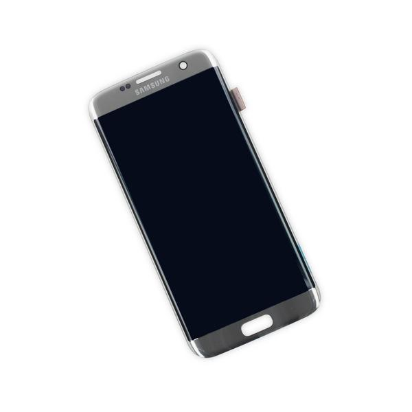Samsung Galaxy S7 Edge Display Assembly - Silver Titanium