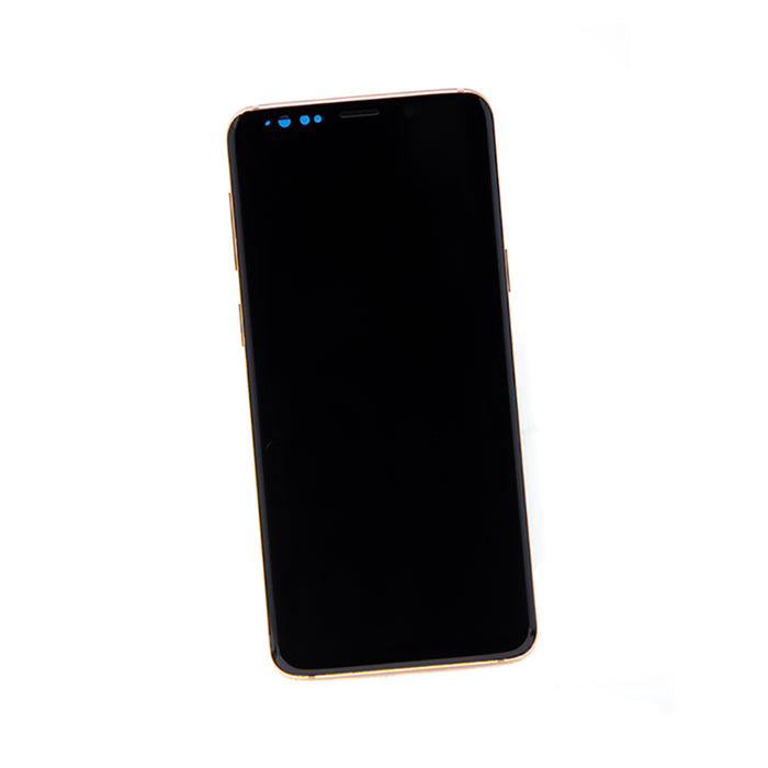 Samsung Galaxy S9 Display Assembly with Frame - Sunrise Gold