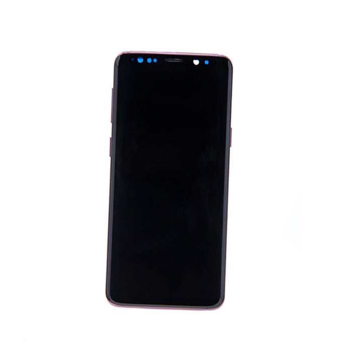 Samsung Galaxy S9 Display Assembly with Frame - Lilac Purple