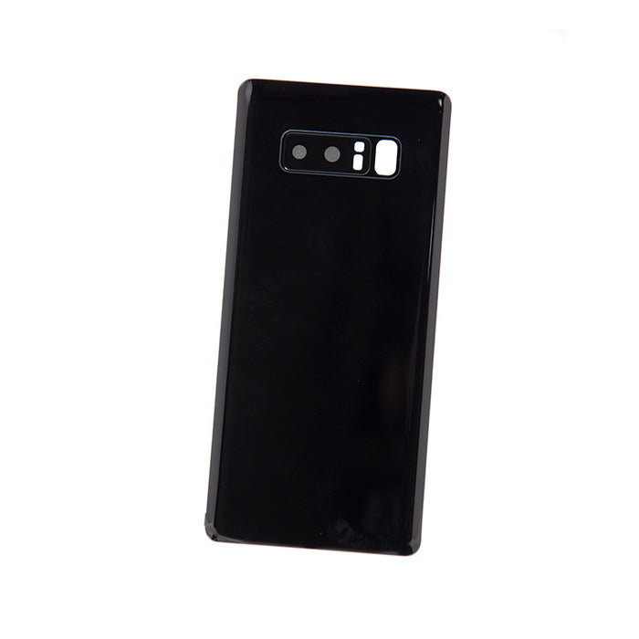 Samsung Galaxy Note 8 Back Glass - Midnight Black