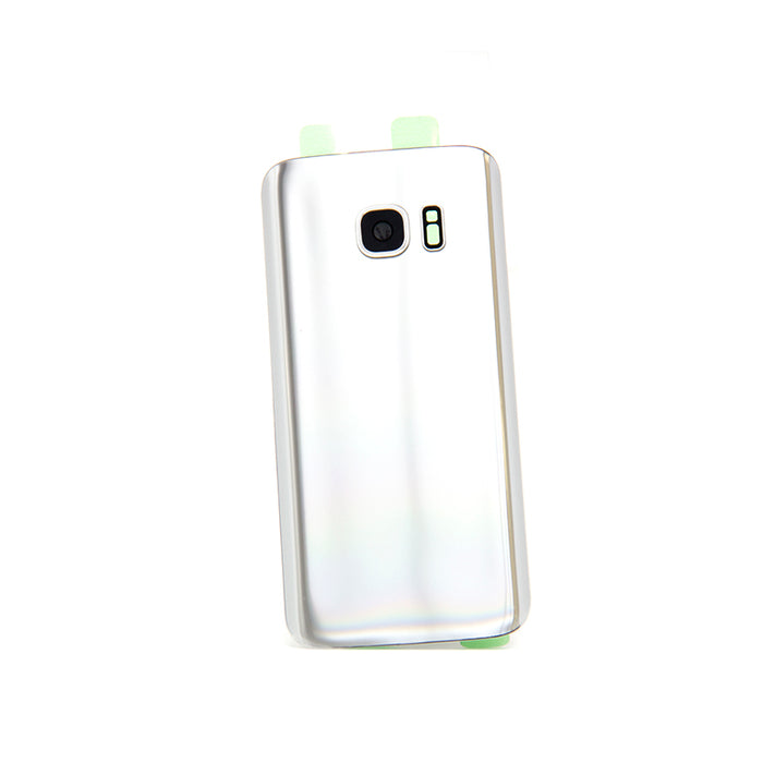 Samsung Galaxy S7 Back Glass - Silver Titanium