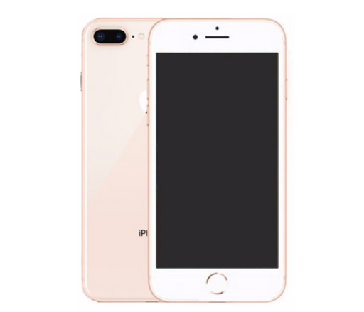 "iPhone 8 Plus (5.5"") 64GB GSM Unlocked/Verizon Gold B Grade (Fair/Good)"