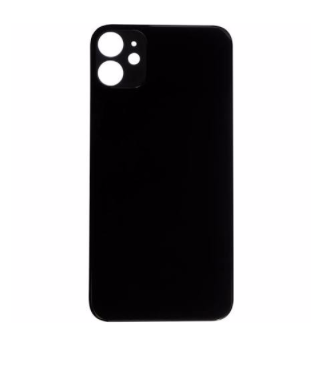 iPhone 11 Back Glass No Logo - Black