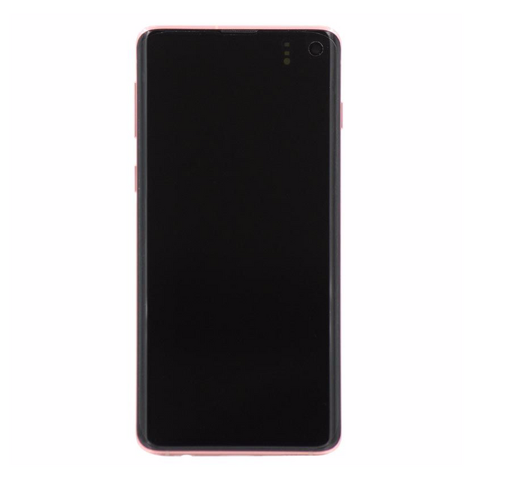 Samsung Galaxy S10+ Display Assembly with Frame - Flamingo Pink