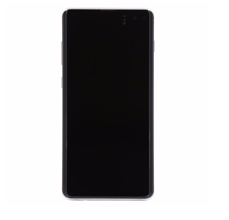 Samsung Galaxy S10+ Display Assembly with Frame - Prism White
