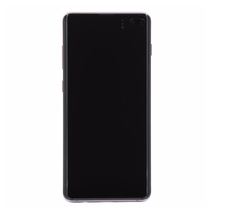 Samsung Galaxy S10+ Display Assembly with Frame - Prism Black