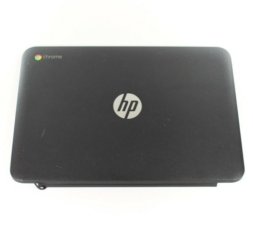 HP g4 Chromebook 11 top cover black