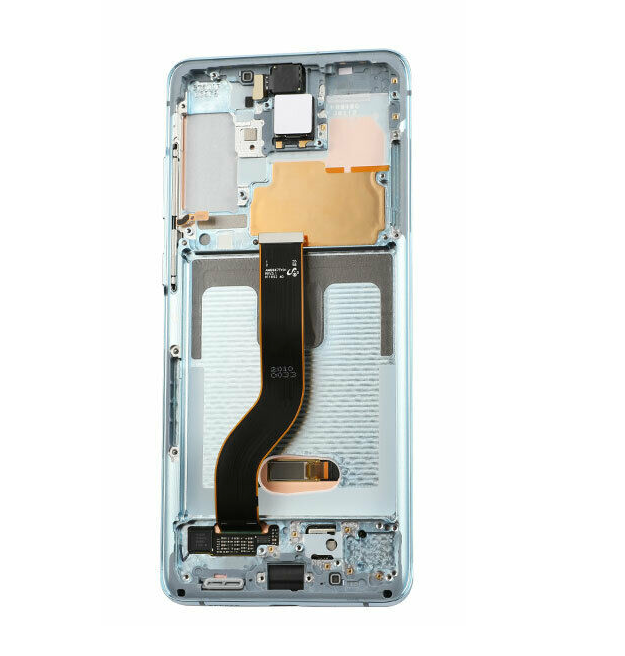 Samsung Galaxy S20 Plus Display Assembly with Frame - Cloud Blue