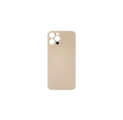 iPhone 12 Pro Max Back Glass No Logo (Large Camera Hole) - Gold