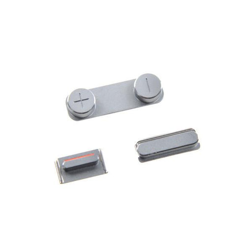 iPhone 5s Power and Volume Button Set - Silver