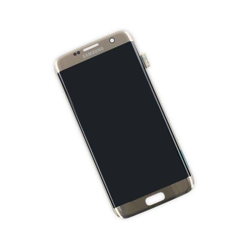 Samsung Galaxy S7 Edge LCD - Gold Platinum