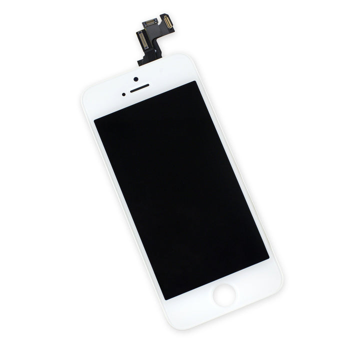 iPhone 5s LCD Assembly - Select - White