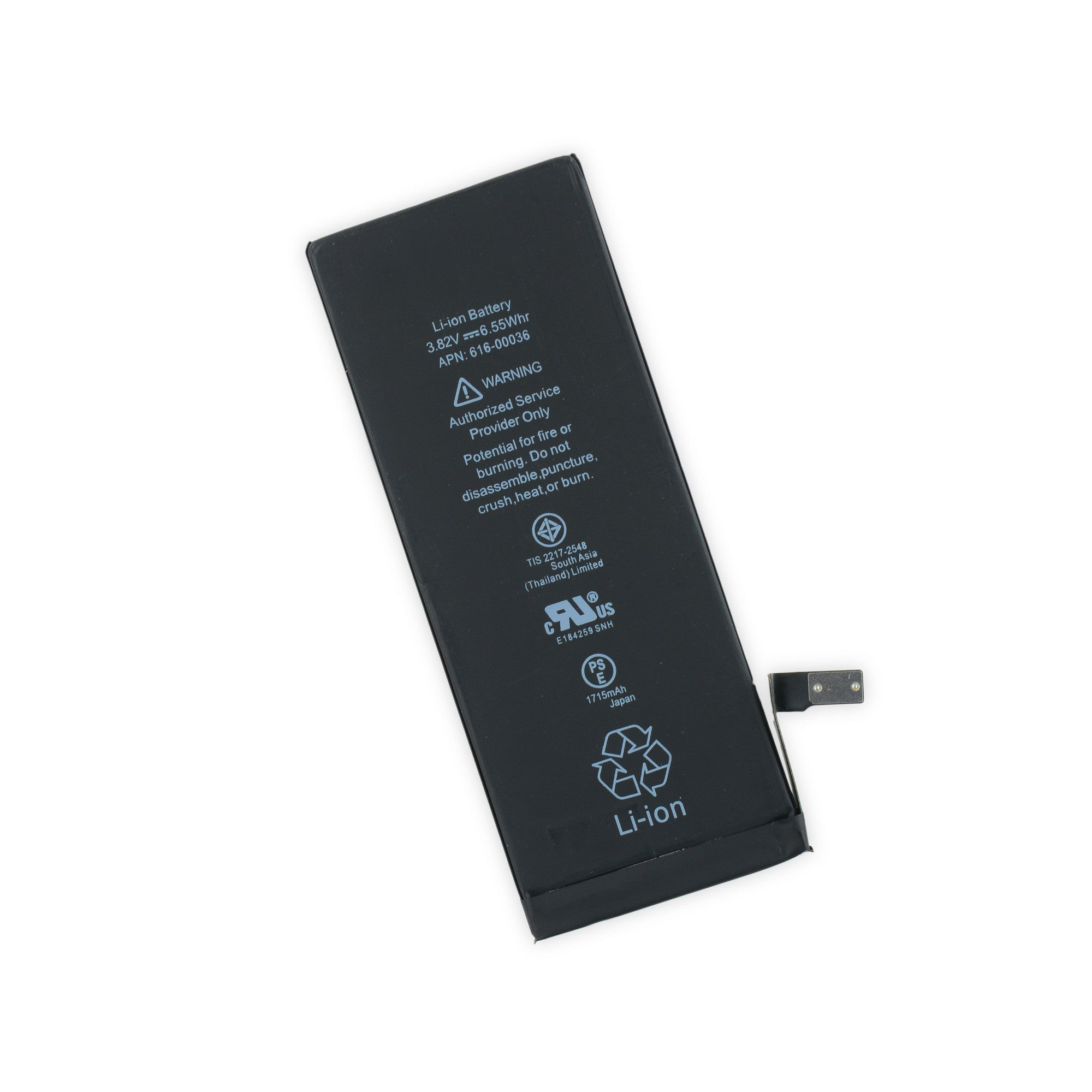 iphone 6s battery ionparts. Black Bedroom Furniture Sets. Home Design Ideas
