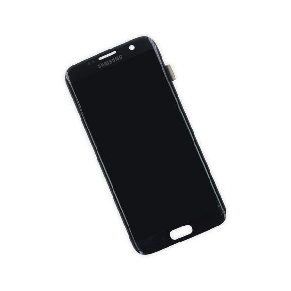 Samsung Galaxy S7 Edge Display Assembly - Black Onyx