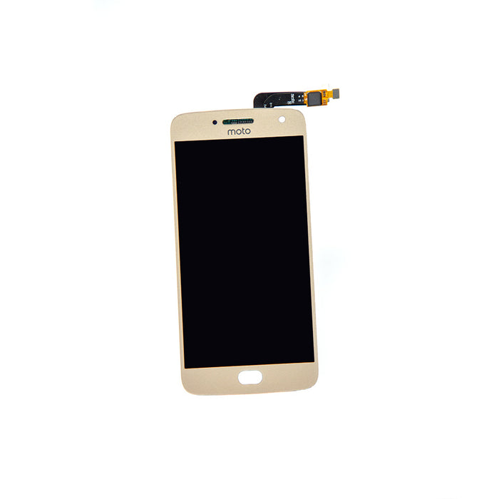 Moto G5 Plus LCD Assembly - Gold