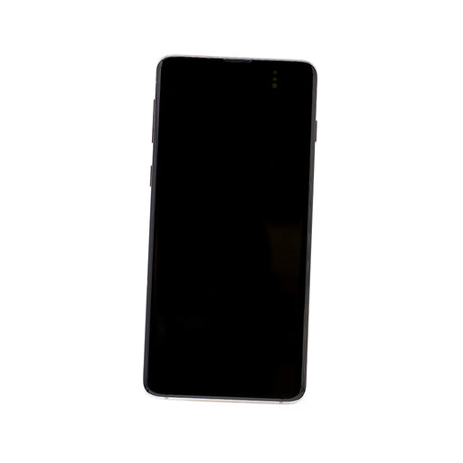 Samsung Galaxy S10+ Display Assembly with Frame - Ceramic White