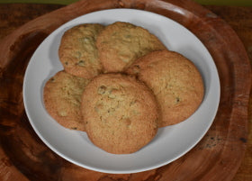 Gluten Free Walnut Chocolate Chips Cookie