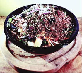 Red Quinoa Salad Bowl