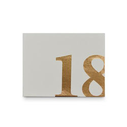 Rose Gold Guest Books | Jumbo Numbers