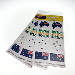 Australia Day Decorations | Australia Day | Australian Temporary Tattoos | Party Theme | The French Kitchen Castle Hill