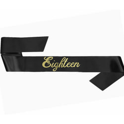 Birthday Girl Sash | Plain