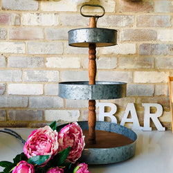 3 tier rustic stand | The French Kitchen Castle Hill
