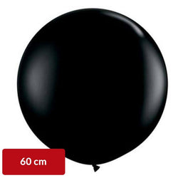 Black Balloon 60cm | Latex
