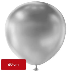Metallic Silver Balloon | 60cm