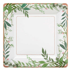 Bridal Shower | Floral | Paper Plates