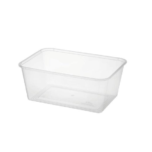 Clear Containers | Rectangle