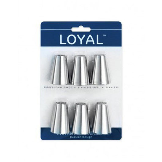 Loyal Russian Stainless Steel Piping Tips | The French Kitchen Castle Hill